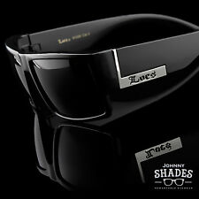 Locs Super Dark Urban Streetwear Sunglasses Hardcore Shades