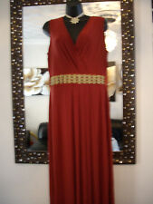 PER UNA JEWEL EMBELLISHED WRAP BUST  MAXI DRESS  14 16 18 TALL NEXT DAY SENDING