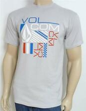 Volcom Stone Everyday USA Tee Mens Pale Gray Silver T-Shirt New NWT