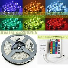 5050 RGB Waterproof 5M 150LEDS SMD Flexible LED Strip Christmas party Car Light