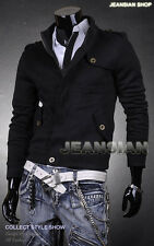 Jeansian Mens Jacket Blazer Coat Shirt Fashion Lines Slim 3 Colors 4 Sizes 0863