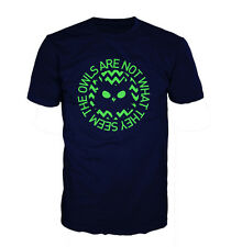 OWLS ARE NOT WHAT THEY SEEM TSHIRT, OWLS, TWIN PEAKS INSPIRED T SHIRT, GILDAN
