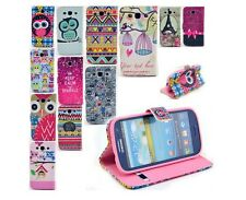 Book Flip Paint Wallet Leather Case Cover Stand For Samsung Galaxy S3 SIII i9300