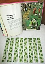 BOOKMARKS~Set 2~St. Patricks Day~Shamrock~Handcrafted~Designs Vary~NEW~FREE SHIP
