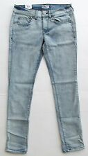 WOMENS/JUNIOR SIZE 9 OR 11 SO BLEACHED OUT/LIGHT WASH STRETCH SKINNY JEANS ~ NEW