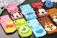 3D Cartoon big head Minnie Mickey soft Silicone cover for HTC Desire 816 cases