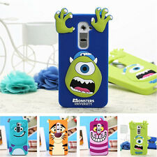 Amusing 3D Monsters Silicone Case for LG Optimus G2 Mobile phone Protective case
