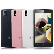 5.0'' IPS Mult-touch Android 4.4 Unlocked AT&T Mobile Cell Phone 3g Dual SIM 4GB
