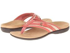 NEW - VIONIC with Orthaheel Technology MARISA Toe Post Sandal - Coral