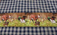 Country Vintage look New Tea Towel Quality Cotton quilted access Farmyard Babies