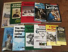 Engineering Books Lathe Workshop Projects Techniques Hand Book from Myford Ltd