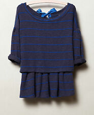 NWT ANTHROPOLOGIE Postmark Latitudes Pullover Sweater Top Various Colors and Sz