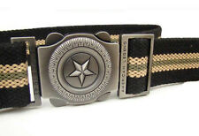 New Men's Buckle Adjustable Military Canvas Casual Sports Belt Birthday Gift him