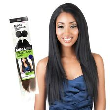 "ISIS Mega Brazilian Remi Synthetic Yaky Hair Extension 2 Bundle 1Pack 10"" - 22"""