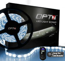 OPT7 16ft All Color LED Light Strips w/ REMOTE 300 SMD Bright Interior Flexible