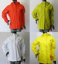NWT The North Face Women's Venture Hyvent Rain Jacket-Orange/White/Olive/Yellow