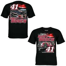 Kurt Busch 2014 Chase Authentics #41 Haas Automation Burnout Tee FREE SHIP