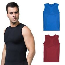 Slimming Men's Body Control Shaper Vest Tummy Belly Waist Girdle Shirt Underwear