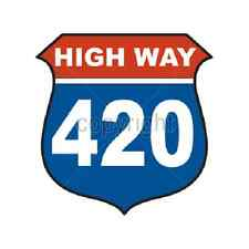 Highway 420 Funny T-Shirt & Tank Tops All Sizes & Colors (902)