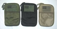 Condor MA16 Pocket Pouch w/ USA Flag Patch Accessory Utility OD Black Coyote GP