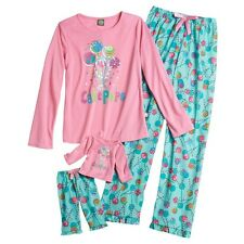 """Dollie & Me 6 7 8 10 12 14 and 18"""" doll matching Pajama set fit american girl"""