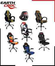 LUXURY RACING GAMING DESIGNER OFFICE CHAIR DESK CHAIR PLUS FUNCTION SEAT