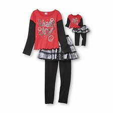 """What a Doll 7/8 and 18"""" doll matching set ft American girl & dollie & me"""