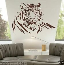 Animal Wild Tiger Jungle  wall decal sticker living room decor vinyl removable