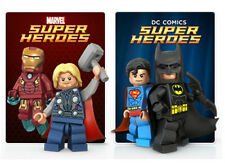 LEGO MARVEL DC COMICS SUPER HERO MINI FIGURE - YOU PICK ONE - OFFICIAL BRAND NEW