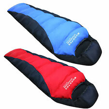 XL Down Sleeping Bag -10 Backpacking Camping Mummy Lightweight Travel Survial