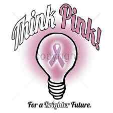 Think Pink! Breast Cancer Awareness T-Shirt & Tank Tops All Sizes & Colors