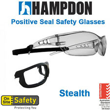 Positive Seal Safety Glasses - Stealth –  SMOKE Anti Fog Lens