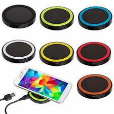 QI Wireless Charging Charger Pad For iPhone Samsung Galaxy S5 LG Nexus Nokia