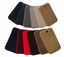 LOGO Carpet Velourtex Small Deck Mat Floor Mat for Chevrolet Spark #V2136