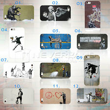 Brand New Cute Banksy Graffiti Phone Case Cover Shell For Apple iPhone 5 5S Top