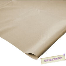 Beige 100% Splashproof Polyester Fabric Material Textiles Upholstery Crafts