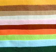 Felt by the YARD Craft Supplies 36 INCHES X 36 INCHES square 100% Polyester
