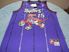 NWT-NBA S/M/L/XL Toronto Raptors Vince Carter basketball jersey WHITE/PURPLE