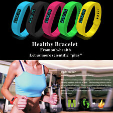 OLED Bluetooth 4.0 Sport Smart Wrist Watch Healthy Bracelet for Android Phones