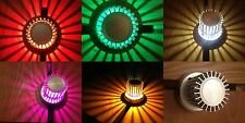 LED Wall Ceiling light lamp fitting 9832 available in white red blue green