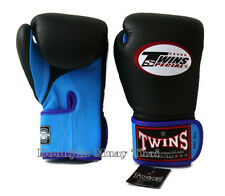 NWT Twins Special Muay Thai MMA K1 Boxing Gloves BGVLA 1 Air  Light Blue Black