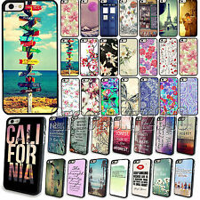 Luxury Painted Pattern Phone Protector Case Cover For Apple iPhone 4 4S 5 5S 5C
