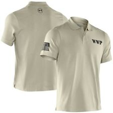 New Under Armour Men's Tactical WWP Performance Polo Desert Sand 1230778