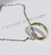 ★LORD OF THE RINGS NECKLACE★ONE GOLD RING NECKLACE★HIGH QUALITY★ LOTR ★ HOBBIT