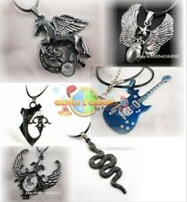 Stainless Steel Necklaces.Punk,Biker,Gothic etc...Multiple Models.High Quality.