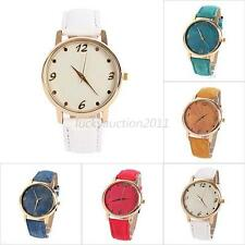 Chic Women Girl Unisex Analog Quartz Sport Wrist Watch Denim Cloth Strap Watches