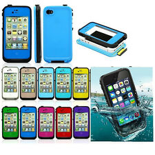 Waterproof Shockproof Dirt Proof Durable Case Cover For Apple iPhone 4 4S