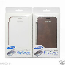Original Samsung Galaxy Note II N7100 Flip Cover Skin Case with NFC Function