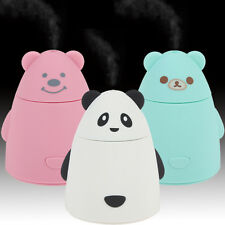 Cute Bear Shape Super Mini USB Mist Air Humidifiers for Home Room Health Care