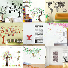 WALL STICKERS Removable Decal Transfer Modern Home Art Vinyl Decor Quote